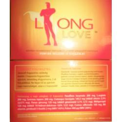 LONG LOVE 4KAPSZULA/CSOMAG Táplálékkiegészítők Táplálékkiegészítők