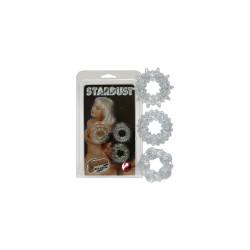 STARDUST 3PCS Gyűrűk Gyűrűk